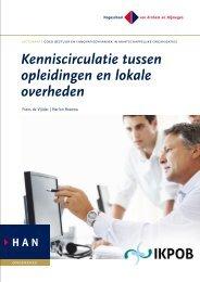 Kenniscirculatie tussen opleidingen en lokale overheden (auteurs ...