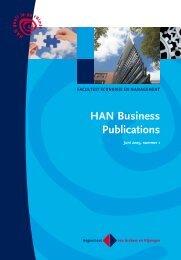 Download HAN Business Publications juni 2009, nr 1 - Hogeschool ...