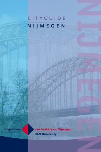 C I T Y G U I D E N I J M E G E N - Hogeschool van Arnhem en ...
