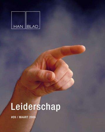 Nr. 9 Leiderschap - Hogeschool van Arnhem en Nijmegen