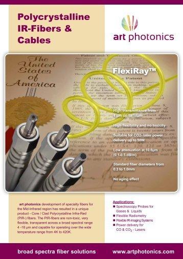 Polycrystalline IR-Fibers & Cables