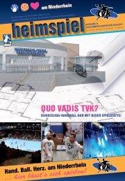 QUO VADIS TVK? - TV Korschenbroich Handball