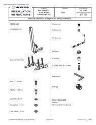 ACOR Double Pivot Caliper Road Single Speed Fixed Bike frein 57//73mm