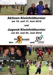 Aktiven-Kleinfeldturnier Jugend-Kleinfeldturnier - SC Fortuna Wellsee