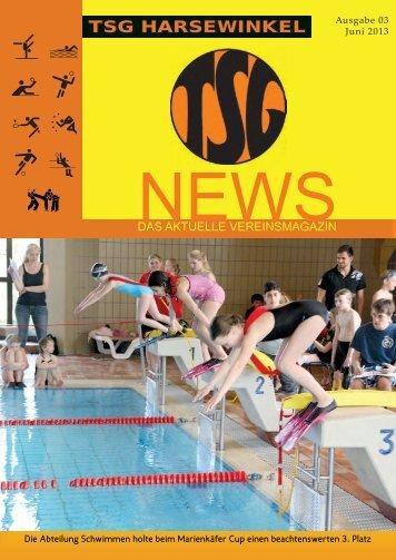 TSG NEWS Mai 2013.indd - TSG Harsewinkel Abteilung Handball