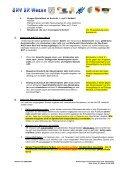 Anweisungen an alle Schiedsrichter und Beobachter des SHV, der ... - Page 2