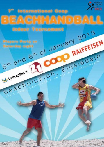 Dear Beachhandball Fans and Friends