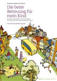 Die beste Betreuung für mein Kind - Handbuch Kindertagespflege