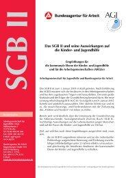 Das SGB II und seine Auswirkungen auf die Kinder- und ... - AGJ