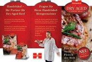 Ihr Partner für Dry-Aged-Beef