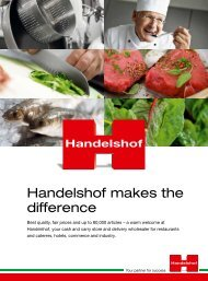 Handelshof makes the difference