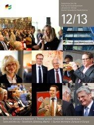 Årsberättelse 2012 - Tysk-Svenska handelskammaren