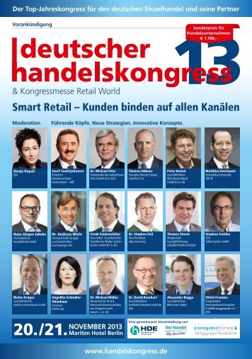 PDF Download - Deutscher Handelskongress