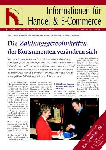 Elektronisch Bezahlen - Handelsverband
