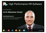 High Performance HR-Software - Handelsverband