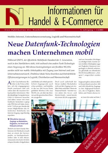 Mobile Business - Handelsverband