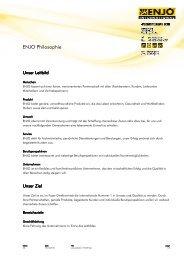 ENJO Leitbild - Handelsverband