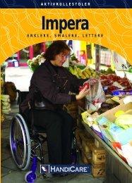 Aktiv rullestoler Brosjyre - Handicare AS