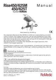 Brukermanual - Handicare AS