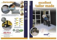 Excellent tailor made - Handicare