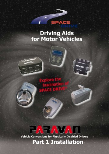 Driving Aids for Motor Vehicles Part 1 Installation - Handicare AS