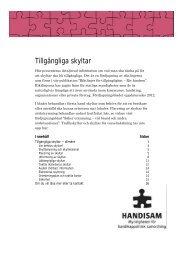 Fördjupningsblad 2012 Skyltar i pdf-format - Handisam