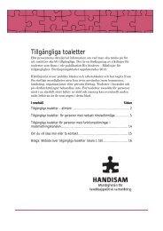 Fördjupningsblad 2012 Toaletter i pdf-format - Handisam