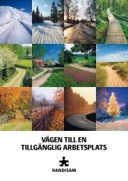 Kalendern - Vägen till en tillgänglig arbetsplats i pdf ... - Handisam