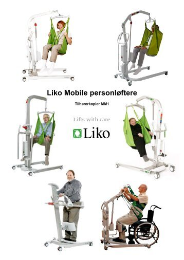 Liko Mobile personløftere - Handicare AS