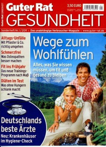 Sonderheft Nr.1/2011 I Das unabhängige ... - Luisenhospital