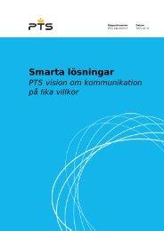 Post- och telestyrelsens redovisning i pdf-format - Handisam
