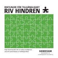 RIV HINDREN - Handisam