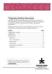 Tillgänglig skriftlig information i pdf-format (196 kB, nytt ... - Handisam