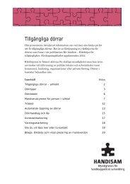 Fördjupningsblad 2012 Dörrar i pdf-format - Handisam