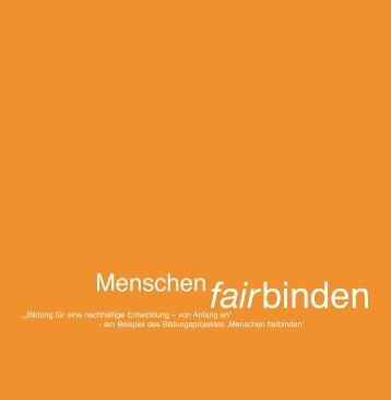 Das Menschen fairbinden Handbuch - Logo menschen fairbinden