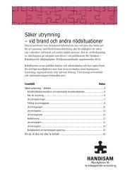 Fördjupningsblad 2012 Utrymning i pdf-format - Handisam