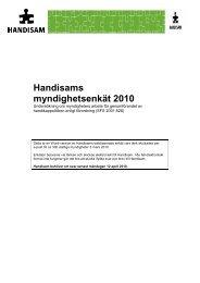 Handisams myndighetsenkät 2010 i pdf-format (132 kB, nytt fönster)