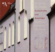 Sanierung - Stadt Augsburg