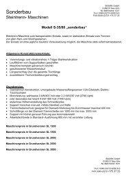 S- 35/80 sonderbau - Bourk GmbH