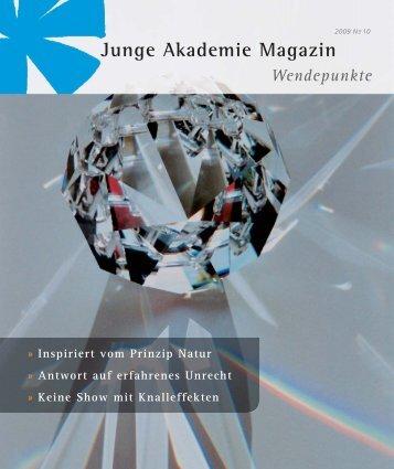pdf, 1,2 MB - Die Junge Akademie