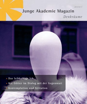 pdf, 2,5 MB - Die Junge Akademie