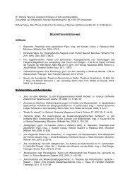 Publikationsverzeichnis - Die Junge Akademie