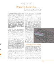 I. Lisberg-Haag, Wettlauf mit dem Parasiten. Infektionsforschung ...