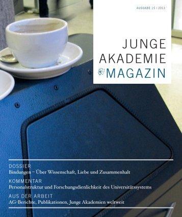 pdf, 3 MB - Die Junge Akademie