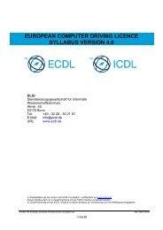 ECDL Syllabus 4.0 - DLGI