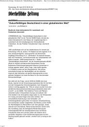 Zukunftsfähiges Deutschland in einer globalisierten Welt ...