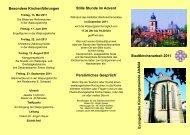 Stadtkirchenarbeit Flyer 11 - Evangelische und Katholische ...