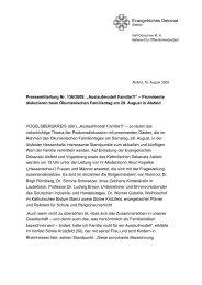 Ralf Dörschner M - Evangelische und Katholische ...