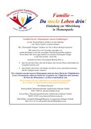 Familie – Da steckt Leben drin! - Evangelische und Katholische ...