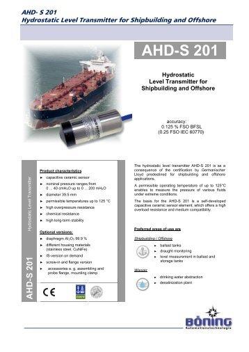 AHD-S 201